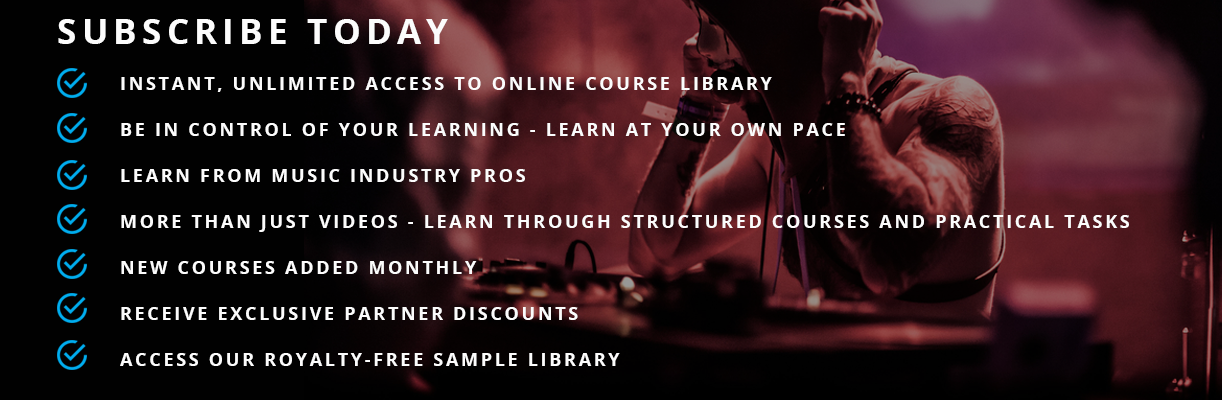 learn from music industry pros