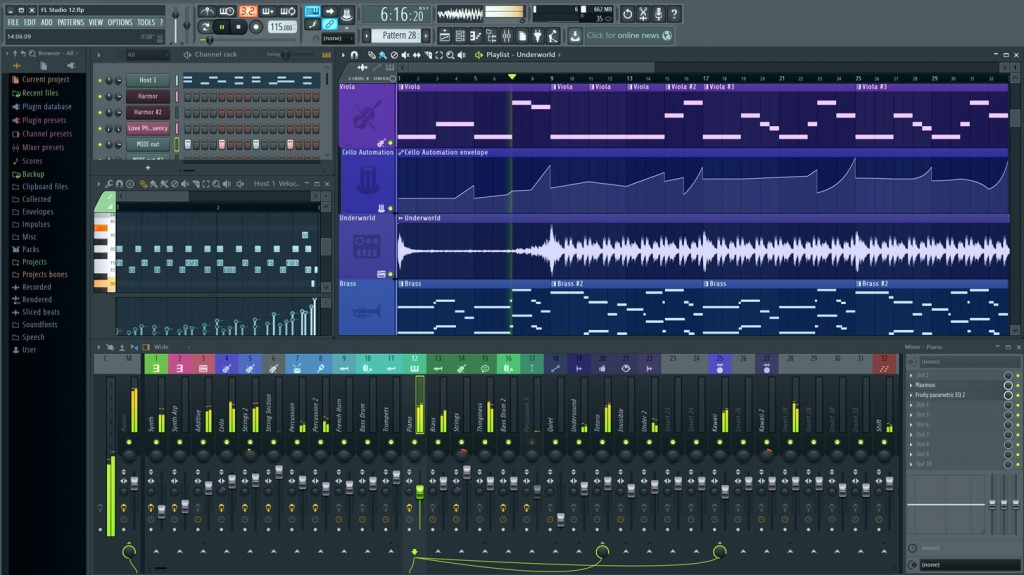 FL Studio Screen