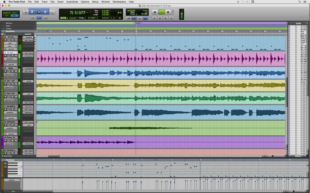 ProTools Screen